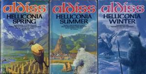 Brian Aldiss_Helliconia_cover set_TRIAD BOOKS